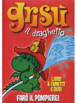 Grisu' Il Draghetto 01 - Faro' Il Pompiere (Dvd+Libro)