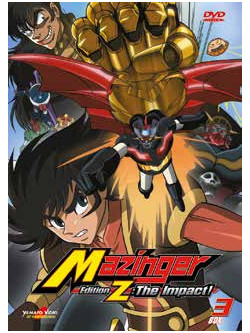 Mazinger Edition Z The Impact 03 (2 Dvd)