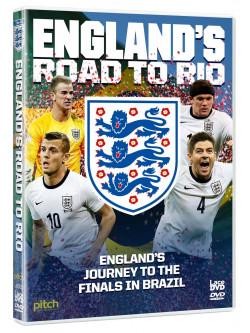 Englands Road To Rio: Brazil World Cup 2014 [Edizione: Regno Unito]
