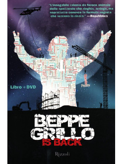 Beppe Grillo Is Back Tour (Dvd+Libro)