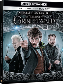 Animali Fantastici - I Crimini Di Grindelwald (Blu-Ray 4K Ultra HD+Blu-Ray)