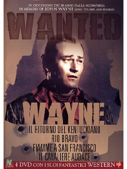 John Wayne - Wanted Cofanetto (4 Dvd)