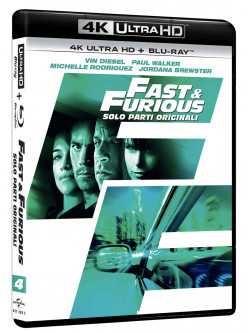 Fast And Furious - Solo Parti Originali (Blu-Ray 4K Ultra HD+Blu-Ray)