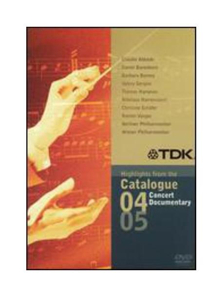 Tdk Concert & Documentary Catalog
