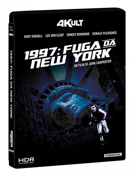 1997 Fuga Da New York (4Kult) (Blu-Ray 4K+Blu-Ray+Card Numerata)