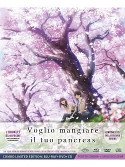 Voglio Mangiare Il Tuo Pancreas (Digipack Limited Edition) (Blu-Ray+Dvd+Cd+Cards+Poster)