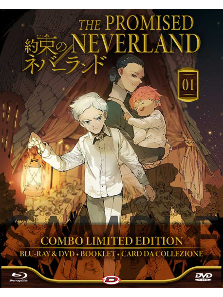 Promised Neverland (The) 01 (Eps.01-06) (Blu-Ray+Dvd) (Ltd. Edition)