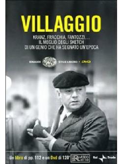 Villaggio - Kranz, Fracchia, Fantozzi (Dvd+Libro)