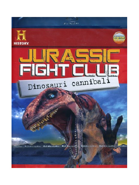 Jurassic Fight Club - Dinosauri Cannibali (Blu-Ray+Booklet)