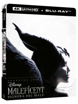 Maleficent - Signora Del Male (Blu-Ray 4K Ultra HD+Blu-Ray) (Ltd Steelbook)