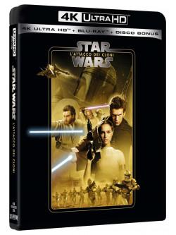 Star Wars - Episodio II - L'Attacco Dei Cloni (Blu-Ray 4K Ultra HD+2 Blu-Ray)