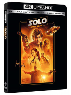 Solo - A Star Wars Story (Blu-Ray 4K Ultra HD+2 Blu-Ray)