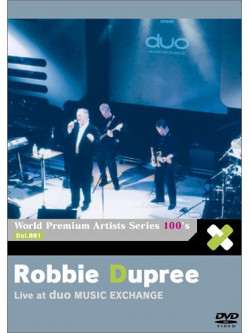 Dupree, Robbie - World Premium 100'S Artists Se      Ries (2 Dvd) [Edizione: Giappone]