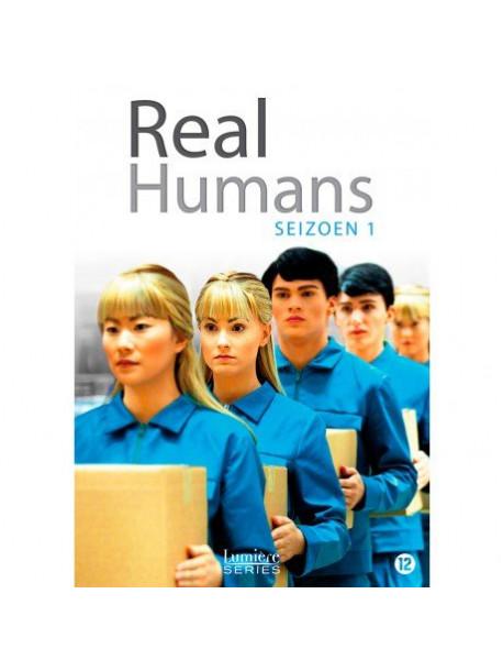 Real Humans Season 1 (4 Dvd) [Edizione: Paesi Bassi]