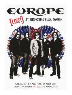 Europe - Live At Shepherd'S Bush.London (2 Dvd) [Edizione: Giappone]