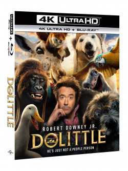 Dolittle (Blu-Ray 4K Ultra HD+Blu-Ray)
