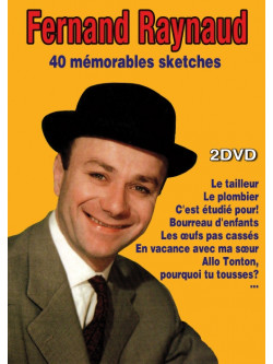 Fernand Raynaud - 40 Memorables Sketches (2 Dvd) [Edizione: Francia]