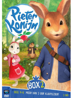 Pieter Konijn - Deel 4-6 (3 Dvd) [Edizione: Paesi Bassi]