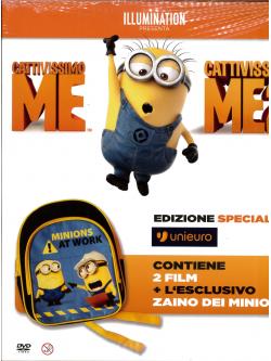 Cattivissimo Me 1 & 2 (Minimovie Collection 2 Dvd+Zainetto Box Set)