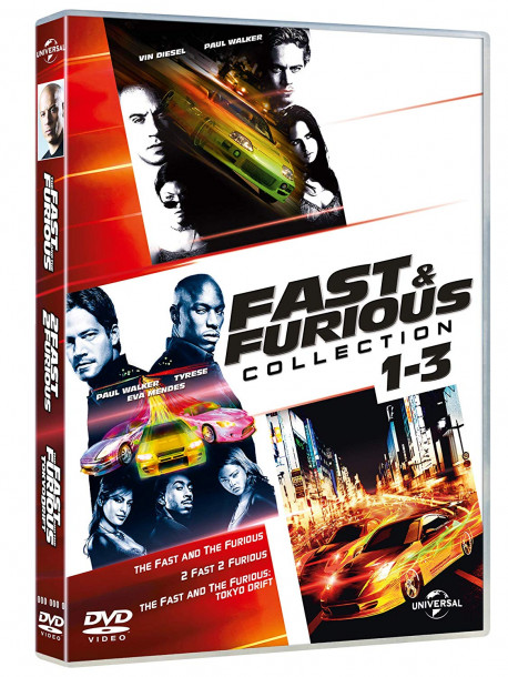 Fast & Furious Tuning Collection (3 Dvd)