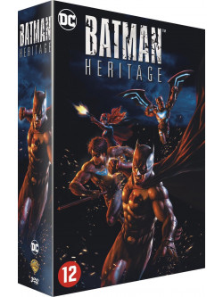 Batman Heritage Coll.. (3 Dvd) [Edizione: Paesi Bassi]