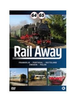 Rail Away 64 & 65 (2 Dvd) [Edizione: Paesi Bassi]