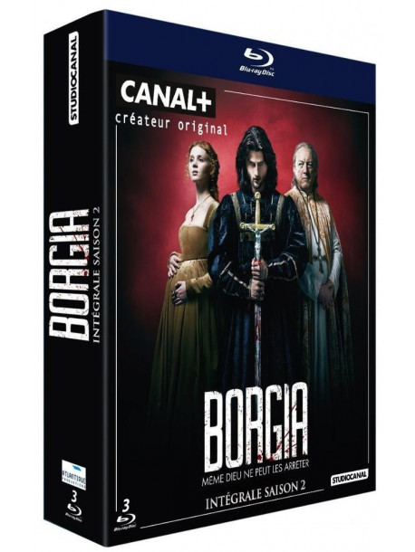 Borgia Saison 2 (3 Blu-Ray) [Edizione: Francia]