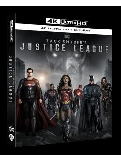 Zack Snyder'S Justice League (Blu-Ray 4K Ultra HD+Blu-Ray)