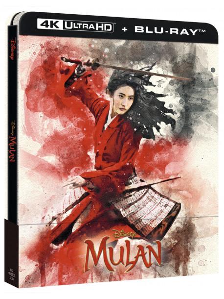 Mulan (Live Action) (4K Ultra Hd+Blu-Ray) (Steelbook)