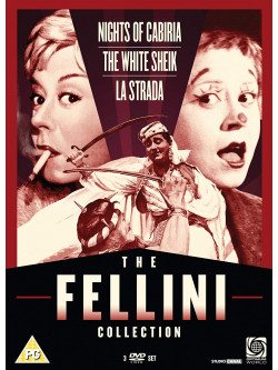 Fellini Collection (The) (3 Dvd) [Edizione: Regno Unito] [ITA]