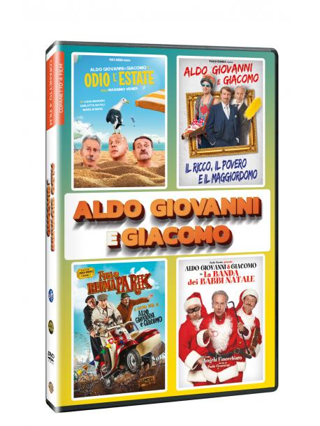 Aldo, Giovanni E Giacomo 4 Film Collection (4 Dvd)