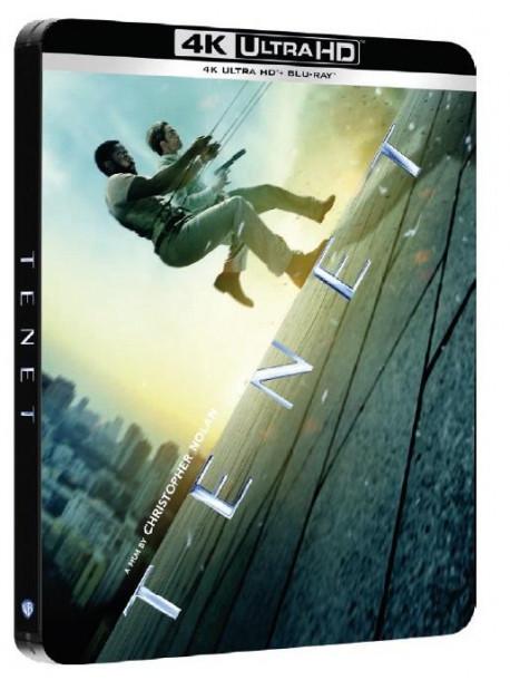 Tenet (4K Ultra Hd+2 Blu Ray) (Steelbook)