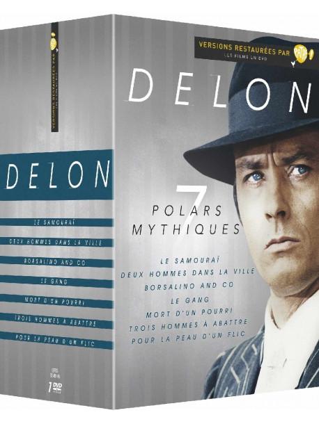 Delon 7 Polars Mythiques (7 Dvd) [Edizione: Francia]