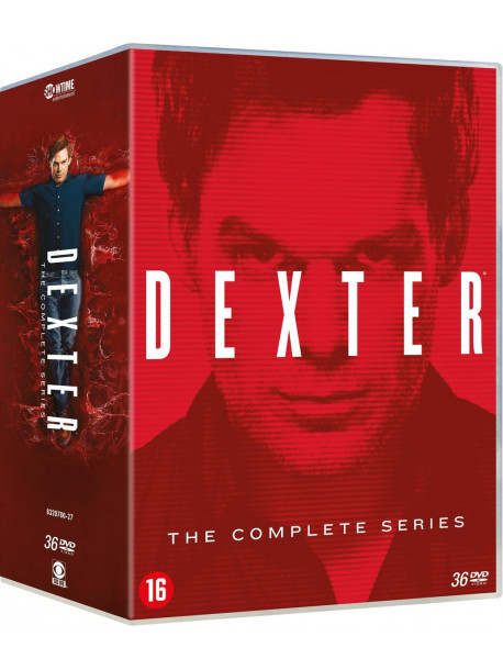 Dexter The Complete Series (36 Dvd) [Edizione: Paesi Bassi]