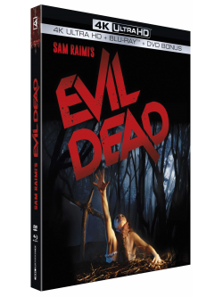 Evil Dead 4K Ultra Hd/Blu-Ray+Dvd [Edizione: Francia]