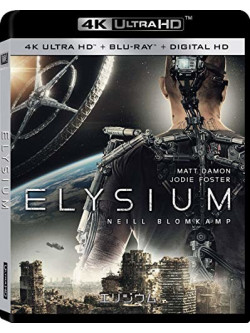 Elysium (4K Ultra Hd+Blu-Ray)