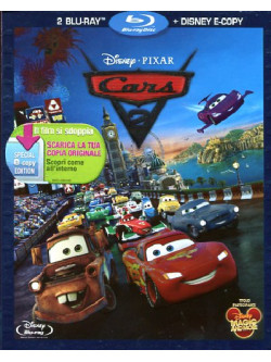 Cars 2 (2 Blu-Ray+E-Copy)