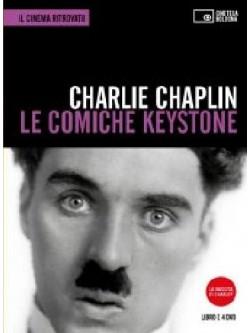 Charlie Chaplin - Le Comiche Keystone (4 Dvd+Libro)