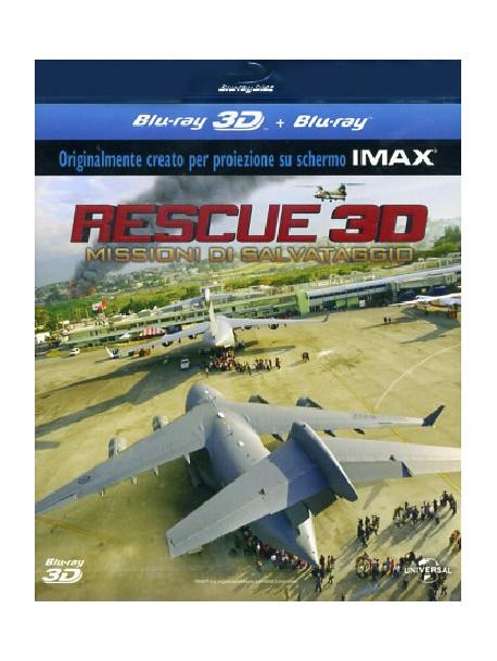 Rescue 3D - Missioni Di Salvataggio (Blu-Ray+Blu-Ray 3D)
