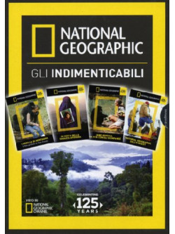 National Geographic - Gli Indimenticabili (4 Dvd)