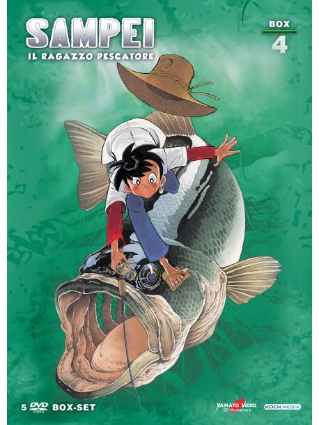 Sampei - Il Ragazzo Pescatore Box 04 (Ltd) (5 Dvd+Booklet)