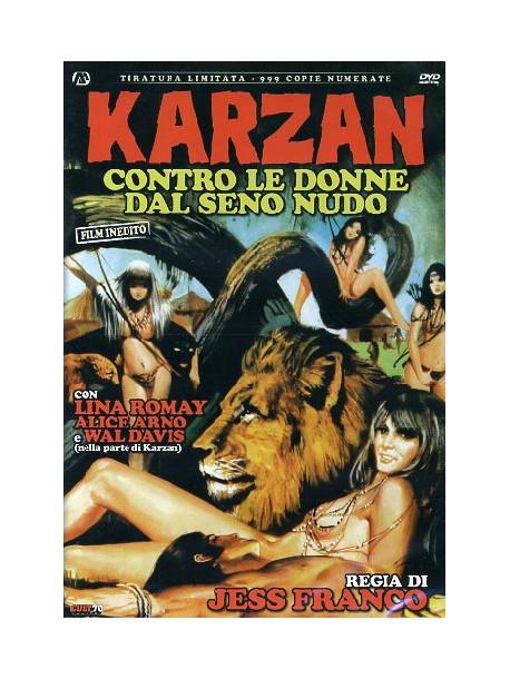 Karzan Contro Le Donne Dal Seno Nudo (Ed. Limitata E Numerata)