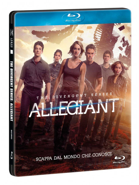 Allegiant - The Divergent Series (Ltd Steelbook)