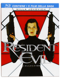 Resident Evil Collection (5 Blu-Ray)
