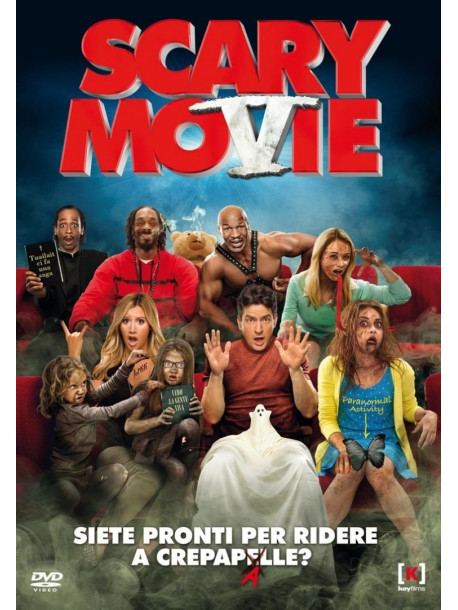 Scary Movie 5 Dvd It