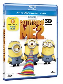Cattivissimo Me 2 (3D) (Blu-Ray 3D+Blu-Ray+Digital Copy)