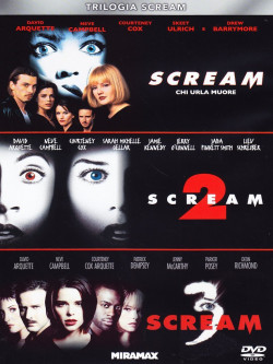 Scream Trilogia (3 Dvd)