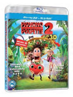 Piovono Polpette 2 (3D) (Blu-Ray 3D+Blu-Ray)