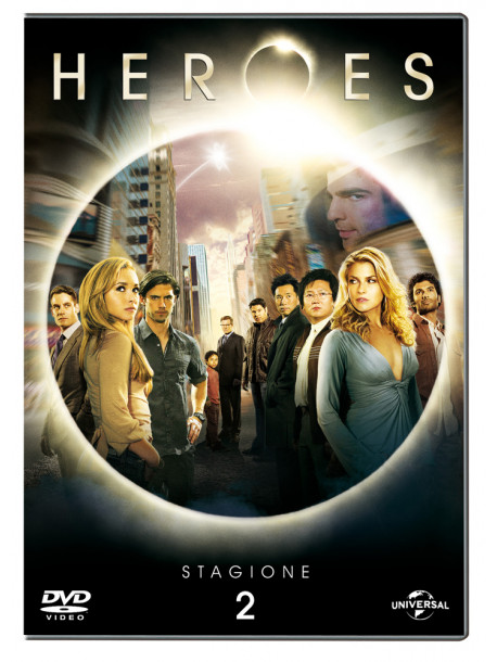 Heroes - Stagione 02 (4 Dvd)