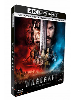 Warcraft - L'Inizio (Blu-Ray 4K Ultra HD+Blu-Ray)